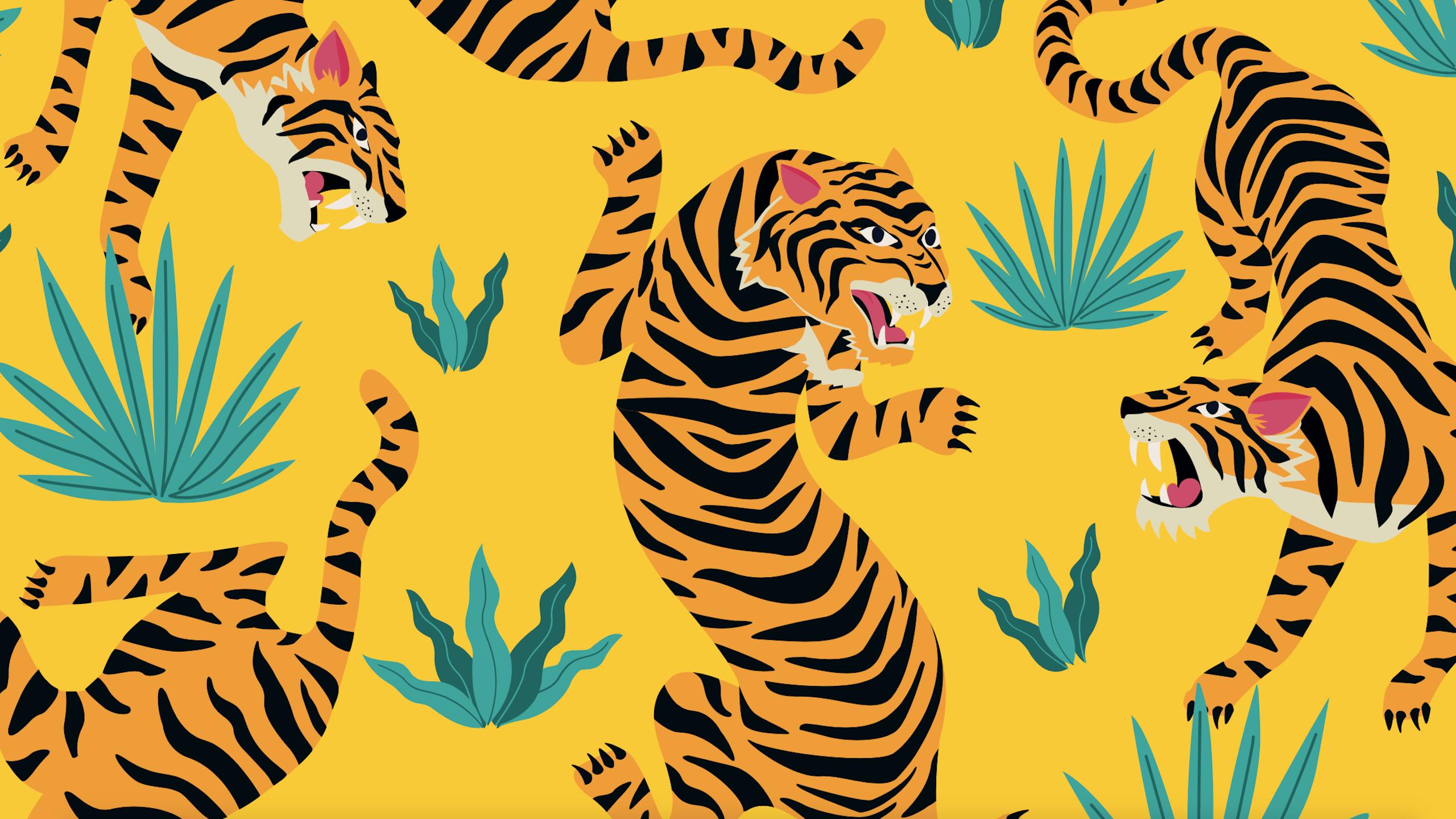Digita_ services_tiger_illustration