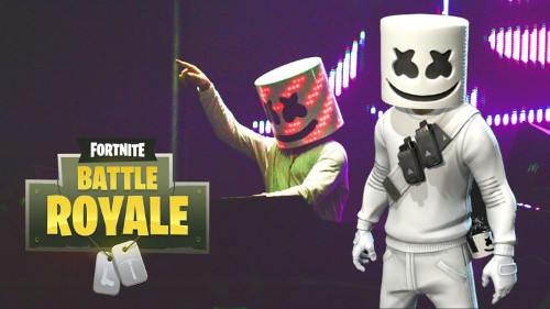 Marshmellow represents a more modern form of in-video game promotion