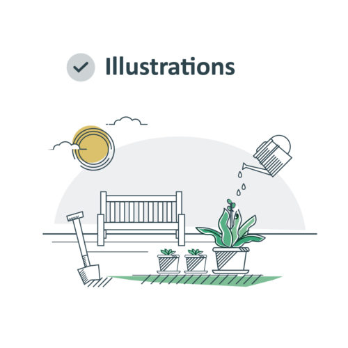 illustrations page example